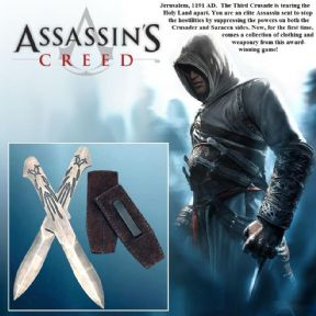 Assassins Creed - Altair Official Throwing Daggers